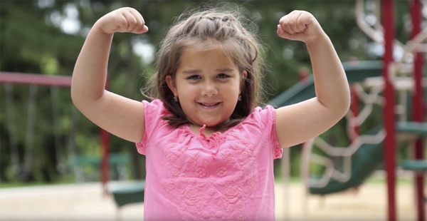 Strong girl - Delafield Pediatric Clinic